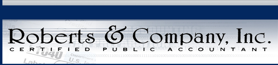 Roberts And Company Inc Cpa Tax Forms And Publications